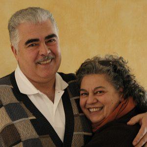 Antonio Sorace e Andreina de Tomassi